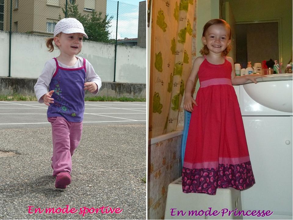 J sportive et Princesse