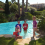 Suite des vacances en juillet & août : mer & piscine à St Aygulf, WE à Evian, activités à Lyon, fête d'amis,..